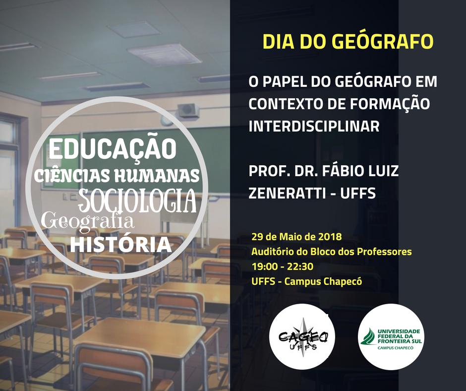 cartaz do evento com informações