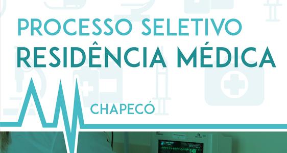 """Imagem branca com o texto """"Residência Médica"""", em fonte verde"""