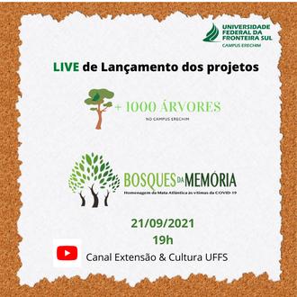 17092021 UFFS adere à campanha nacional Bosques da Memória
