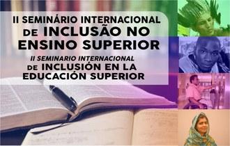 23092021 II Seminário Internacional de Inclusão no Ensino Superior está com inscrições abertas