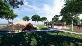 Projeto arquitetônico para espaço cultural da Terra Indígena Ventarra.