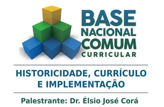 Imagem com o logo da BNNC, título da palestra e nome do palestrante
