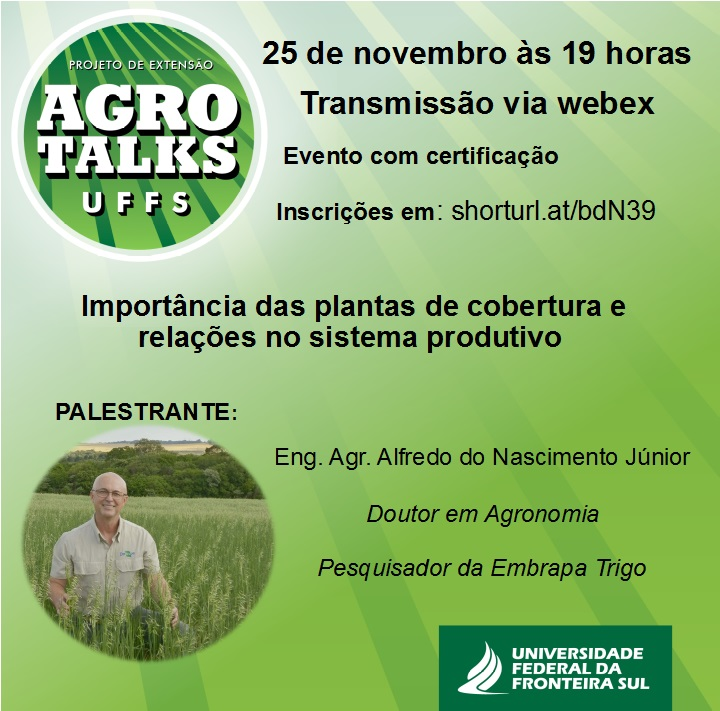 Agro Talks UFFS - quarta palestra