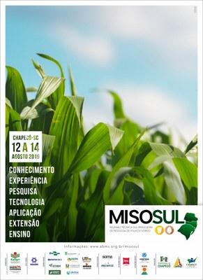 Cartaz com informações sobre o evento Misosul