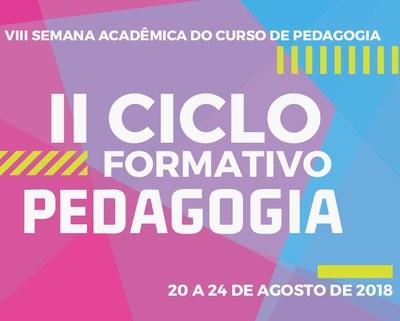 Ilustração Ciclo formativo de Pedagogia