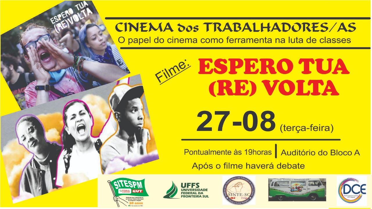 Cartaz com informações sobre o evento Círculo de Cultura 2