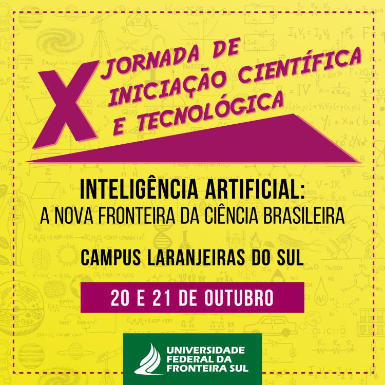 Jornada de Iniciação Científica e Tecnológica