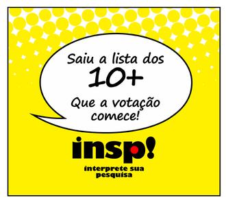 Ilustração com a logomarca do INSP