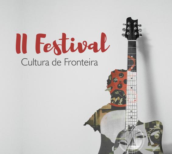 Cartaz com informações sobre evento Festival de Fronteira
