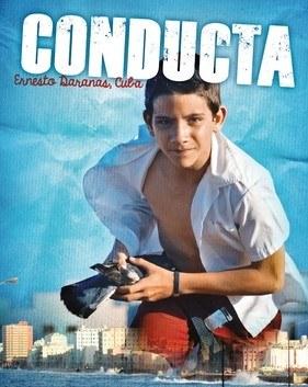 Cartaz com imagem relativa ao filme Conducta
