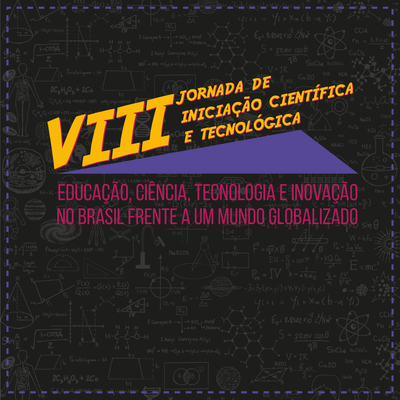 Cartaz com informações sobre a VIII JIC da UFFS