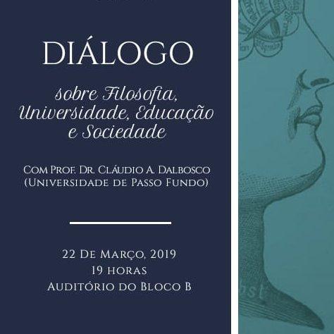 Evento diálogos filosofia