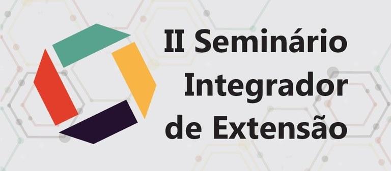 Ilustração do II seminário integrados de extensão