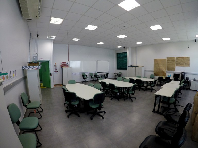 Visão geral da Sala 101 - Lab. 02