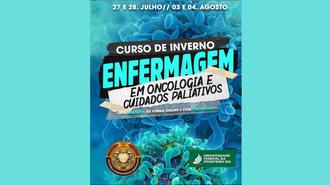 Imagem do cartaz com as informações a respeito do curso de inverno