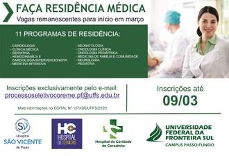 Residência Médica Prorrogado 2020