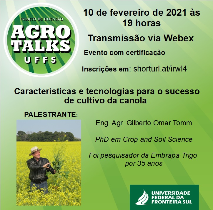 Agro Talks UFFS - 10/02