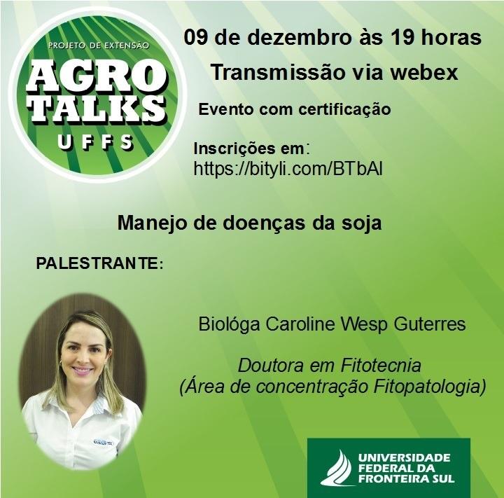 Agro Talks UFFS dezembro