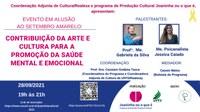 Contribuição da arte e cultura para a promoção da saúde mental e emocional
