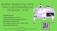 Ensino Remoto na UFFS: Troca de experiências