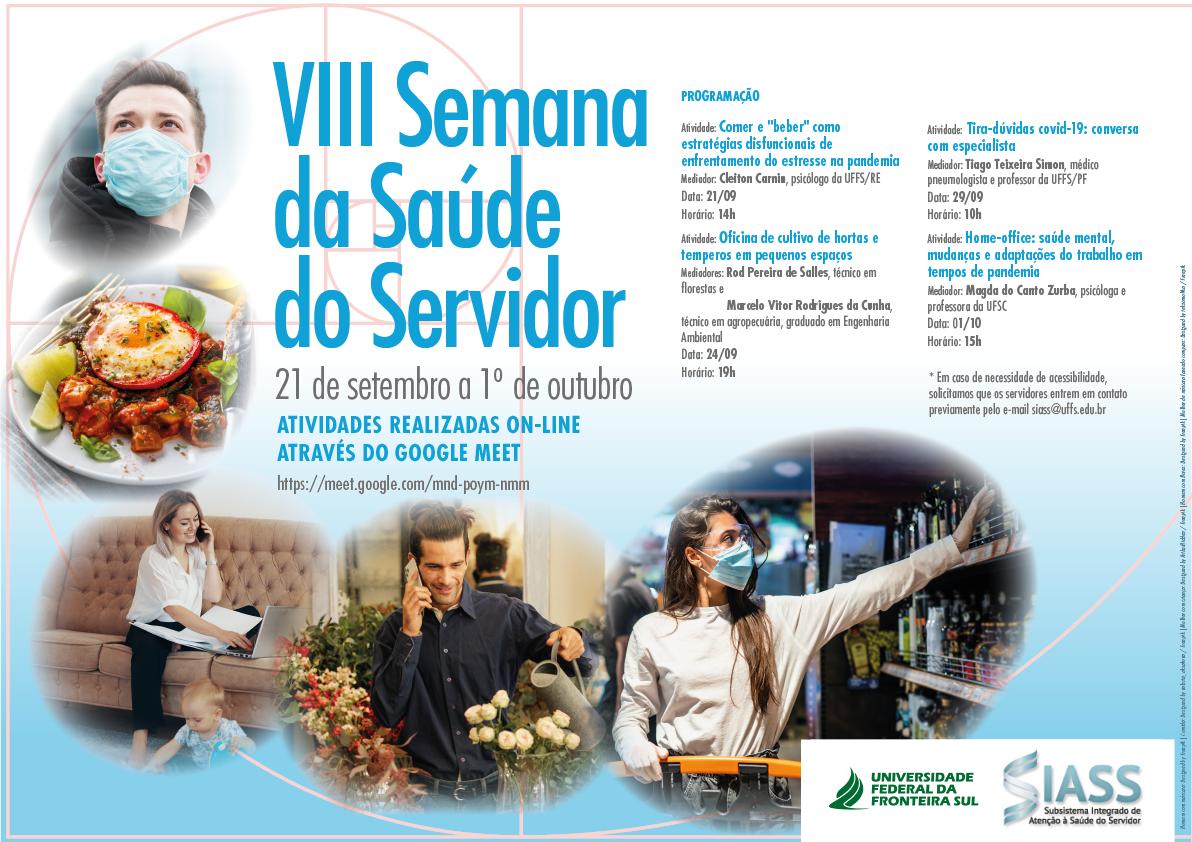 VIII Semana de Atenção à Saúde do Servidor
