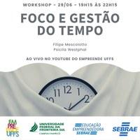 Workshop: Foco e Gestão do Tempo