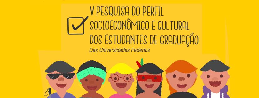 Pesquisa perfil dos estudantes da graduação