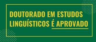 Cartaz sobre aprovação primeiro doutorado da UFFS