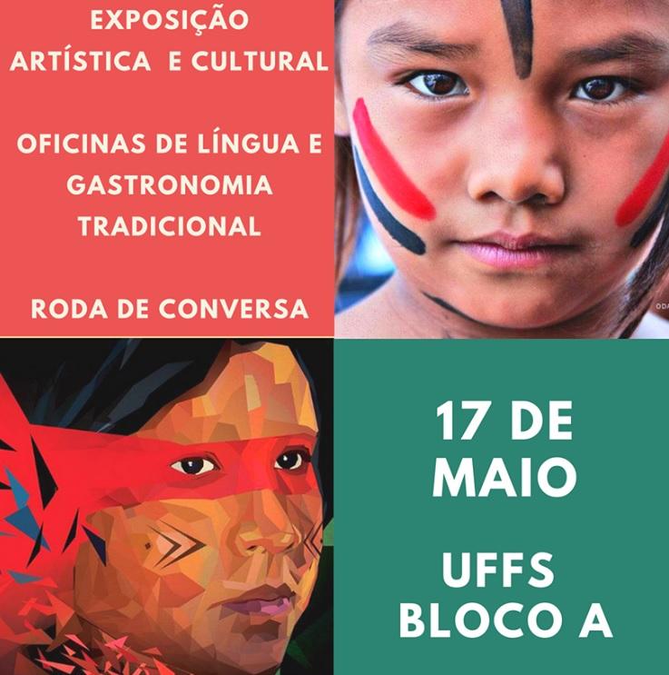 exposição cultural indígena