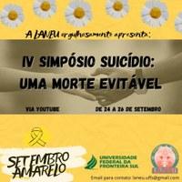"IV Simpósio ""Suicídio: uma morte evitável"""